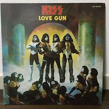 KISS / LOVE GUN JAPAN ISSUE LP GATEFOLD COVER W/ INSERT