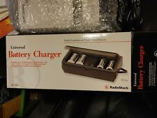 Universal Battery Charger Radio Shack For Aa Aaa D C 9V