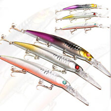 145mm Wahoo Diving Trolling Bait Hardbody Fishing Lure Tuna Kingfish Minnow Fish