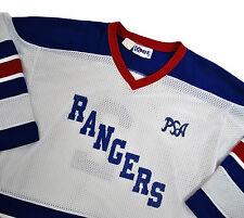 Kitchener Rangers Jersey vtg OHL Hockey Kobe Med PSA #2 White Red Blue Canada