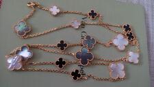 Authentic-Van-Cleef-Arpels-16 Magic-Alhambra-Necklace