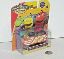 Chuggington Wooden Railway Train - Tyne Engine - NEW - TOMY - Works w/ Thomas