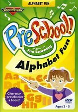 Rock 'N Learn: PreSchool! - Alphabet Fun (DVD Used Very Good)
