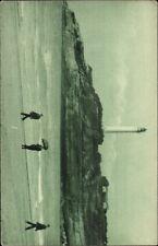 Biarritz France Lighthouse c1915 Postcard myn