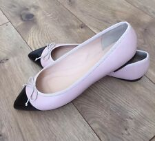 New JCREW Gemma Cap Toe Flats G0878 $118 Pale Petal Pink SIZE 6.5