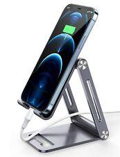 UGREEN Cell Phone Stand Adjustable Aluminum Mobile Phone Holder for Desk Comp...