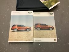 Land Rover Discovery Owners Handbook/Manual and Wallet 16-20