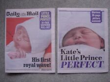 Daily Mail Royal Baby Souvenir Issue, April 2018, Prince William, Kate Middleton