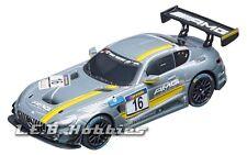 """Carrera GO!!! Mercedes-AMG GT3 """"No.16"""" 1/43 analog slot car 64061"""