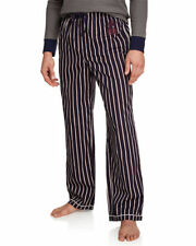 Psycho Bunny Men's Peacoat Classic Striped Lounge Pajama Pants PB4148