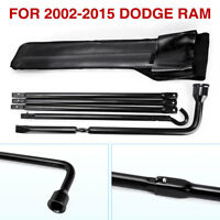 Replacement Jack Spare Tire Lug Wrench Tool Kit for 2002-2015 Dodge Ram w/ Case
