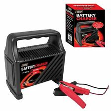 12V 6Amp Battery booster Charger Car Van 12v Motorcycle 6A Trickle Charge - 2494