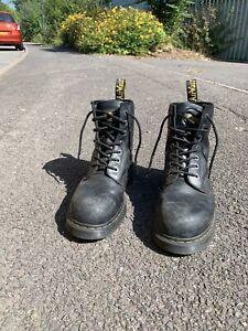 Dr Martens mens steel toe cap work boots size 11