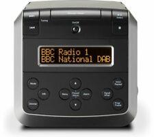 ROBERTS SOUND 48 DAB+ FM BLUETOOTH 5.0 RADIO CD PLAYER ALARM USB AUX-IN BLACK