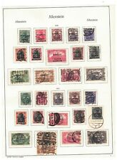 More details for allenstein - page of fine used (c£180) - see scan