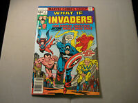 What If? #4 (Marvel, 1977) Invaders Higher Grade