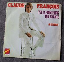 Claude François, y'a le printemps qui chante + 1 , SP - 45 tours pochette 2