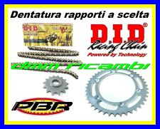 Kit Trasmissione APRILIA RS 250 02>03 catena corona pignone PBR DID VX 2002 2003