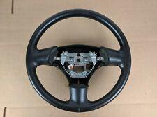 1999-2005 Mazda Miata OEM NB NB1 NB2 99-05 Steering Wheel Black Leather #8