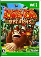 USED Donkey Kong Country Returns - Wii