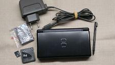 Nintendo DS Lite Spielkonsole - Schwarz + R4 Karte