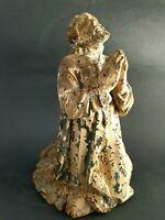Barock  Holz betender Heiliger Figurine Heiligenfigur süddeutschen Raum 18 Jhr