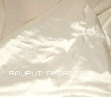 54-Wide 100% Silk Shantung Dupioni Chinese Fabric Bridal Off White (BY THE YARD)