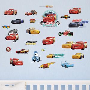 Racing Car Wall Sticker Boy Room Nursery Children Kids Boy Art Wall Decals UK 2C