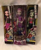 Monster High Lot Of 3 New In Box Draculaura Ari Hauntington Frankie Stein M2