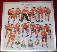 Rare Original 1932 Montreal Canadiens 13x13 Photo Howie Morenz Joliat Hainsworth
