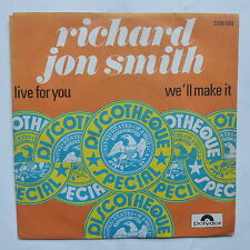 RICHARD JON SMITH Live for you 2058 580
