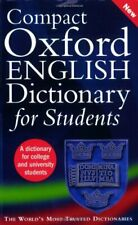 Compact Oxford English Dictionary for University and College, Soanes, Hawker..
