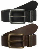 New Levi/'s Strauss Men/'s Casual Leather Harness Belt Black 11LV0204