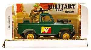 Britains Deetail # 9782 - British Landrover - painted metal vehicle & men - MIB