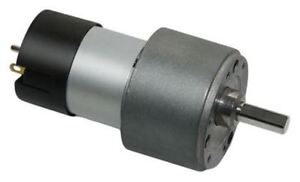 Micromotors, 24 V, 15 Ncm DC Geared Motor, Output Speed 110 rpm