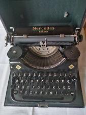 Schreibmaschine ; Mercedes Prima;Zella Mehlis; mit original Koffer