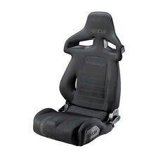 NUOVO! SPARCO R333 forza profonda rafforzare RECLINABILI bucket seat sport-Nero Tessuto