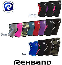 Kniebandage Rehband CrossFit Knee Support 3mm|5mm|7mm RX Line Bandage Gym
