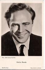 Marlon Brando UFA Postkarte 50er Jahre FK 1605 + P 2580