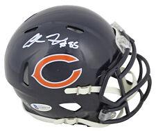 Bears Cole Kmet Authentic Signed Speed Mini Helmet Autographed BAS Witnessed