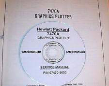 HP 7470A  Graphics Plotter Service Manual