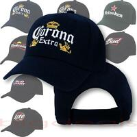 Beer Logo Cap Can Bottle Liquor Alcohol Drink Lager Ale Stout Embroidered Hat