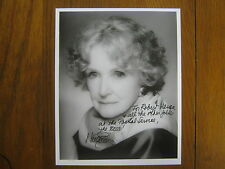 "NINA  FOCH  (Died-2008 )(""Executive Suite"") Signed   8 X 10  Glossy B & W Photo"
