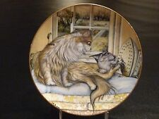 Washday Zoe Stokes Zoe's Cats American Artists Cat Collector Plate