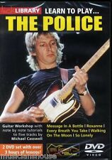 Lick Library Learn to Play the police Message dans une bouteille Roxanne Guitare DVD