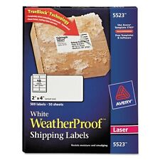 Avery Weatherproof Mailing Labels - 5523