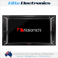 "NAKAMICHI NA1600 BLUETOOTH 6.2"" DVD USB CAR STEREO CD IPOD IPHONE AUX PLAYER"