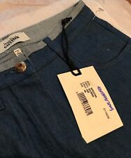 Jean Paul Gaultier Women's Jeans Blue Pants Size IT40 Made In Italy NWT