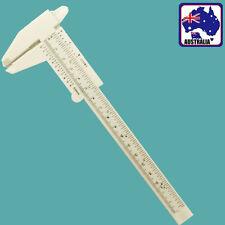 150mm Sliding Vernier Caliper Plastic Measure Ruler Gauge Dual Scale TSQUA 1150