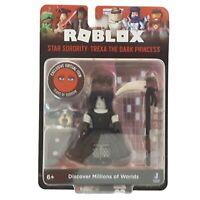 Roblox Star Sorority Trexa The Dark Princess Figure & Tears of Sorrow Face Code
